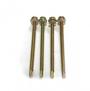 Direct Muag High Quality Hex Head flange Self drilling screws