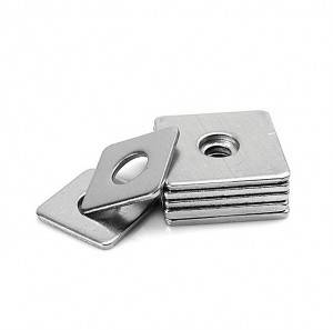 New Fashion Design for SUS304/SUS316 Metric Stainless steel Square taper washer