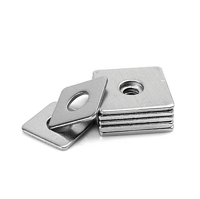 New Fashion Design for SUS304/SUS316 Metric Stainless steel Square taper washer Featured Image