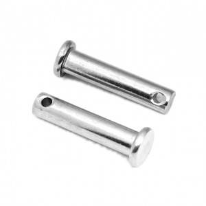 High quality Clevis Pin Flat Head Rivet With Hole Din1444