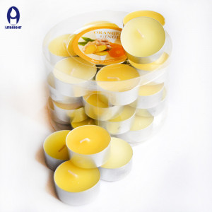wholesale factory price colorful tealight candle
