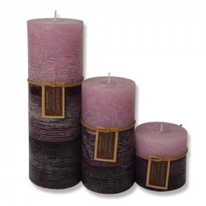 Popular Design for 3 Inch Pillar Candles Round Shape -