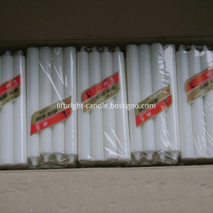 High Quality for White Wax Candle Plain -