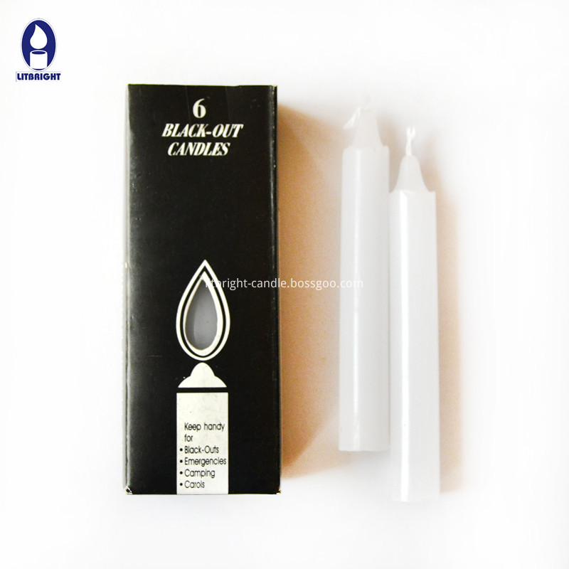 Factory Promotional Paraffin Wax Candle Glass -