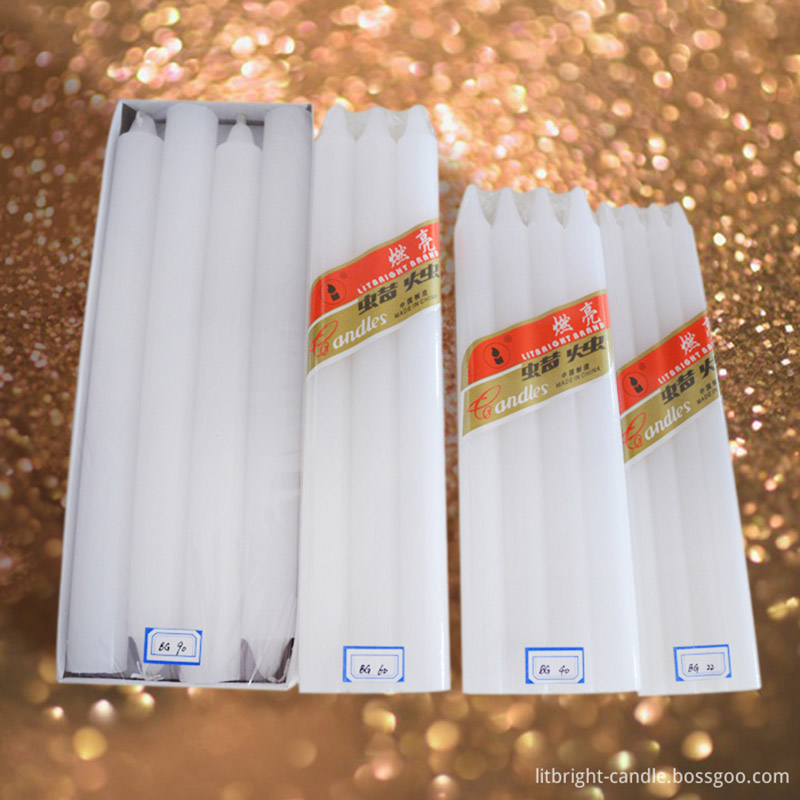Factory Directly supply White Pillar Candles -