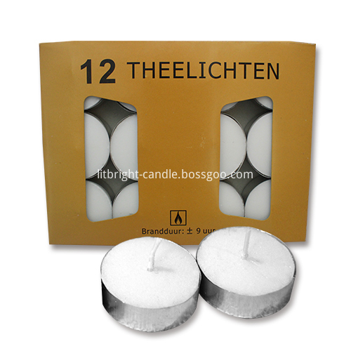 Lowest Price for White Mainstays Fluted Candles -