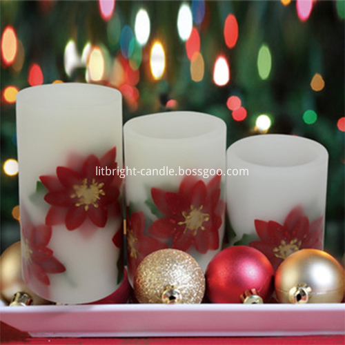 Hot sale Screen Printed Candle Glass -