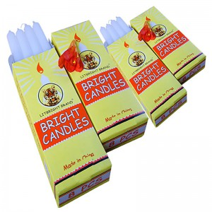 Competitive Price for White Stick Candle -