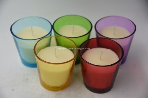 Home Decoration Use and Scented Feature glass jar candle