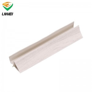 Best Price on Pvc Wall Tile Effect 99301 - top corner pvc accessories – Liwei