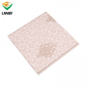 Manufacturer for Pvc Laminated Gypsum Ceiling Board - haining pvc panel factory price – Liwei