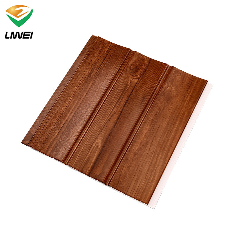 China China Wholesale Laminated Pvc Wall Panel 25cm Wooden Design Pvc Panel For Roof Liwei Manufacturer And Supplier Liwei