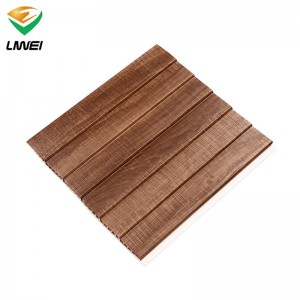 new wooden pvc panel interior decoration