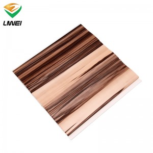 panel de PVC laminado impermeable para la decoración de interiores