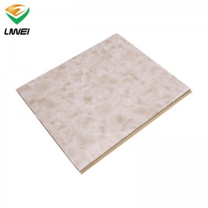 Professional China Laminated Pvc Wall Panels - 40cm pvc panel with marble design – Liwei