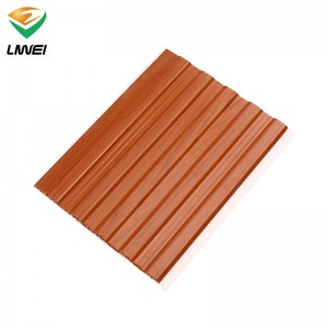 high quality pvc panel with special mould for living room