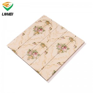 25cm pvc panel with long life-time house decoration
