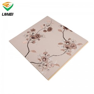 60cm pvc wall panel with v groove