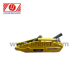 LJ-1600 yellow wire rope pulling hoist