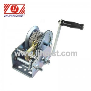 2000lb Mini Hand Boat Winch
