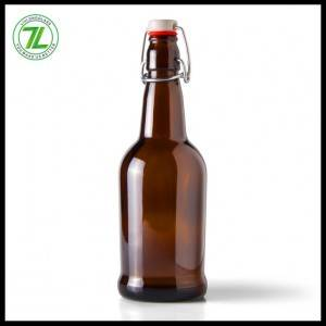 Swing Top Amber Glass 500ml Beer Bottles for Beer, Soda, Kombucha