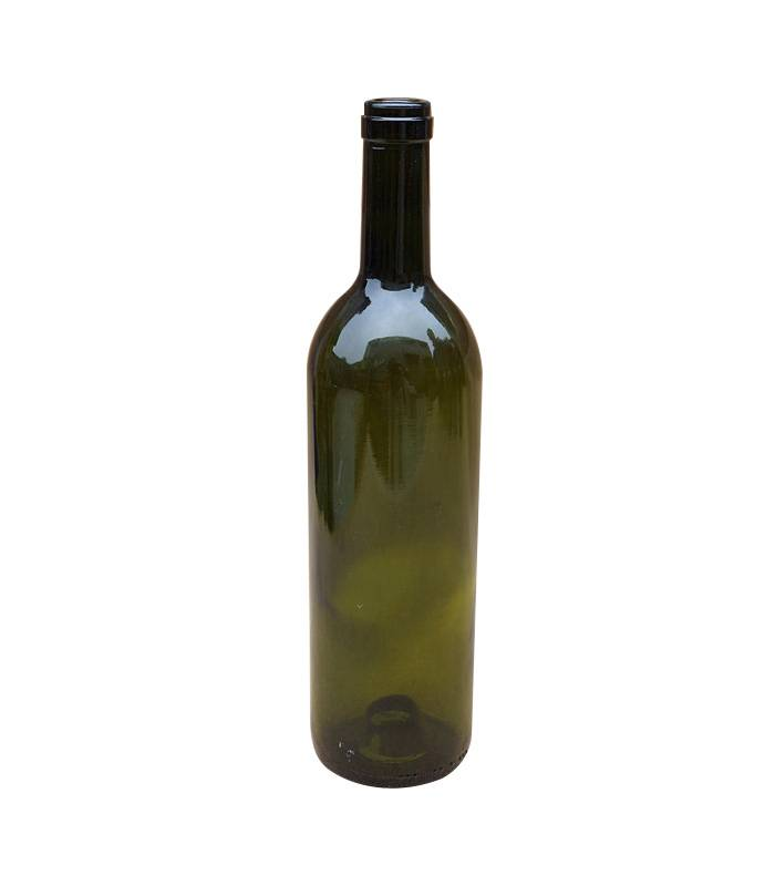 vintage green glass wine bottle 750ml Featured Image