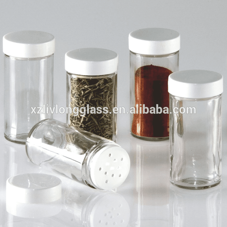 Glass Spice Jar with Shaker tops Featured Image