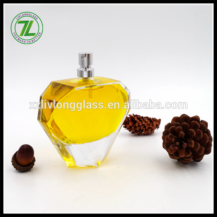 Wholesale 2017 New Design Fancy Customize Empty 100Ml Glass Perfume Bottle
