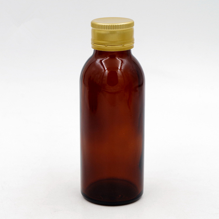 eco stocked tube amber tablet oral liquid solution glass bottle farm chemical pesticide bottle with aluminum hermetic screw cap