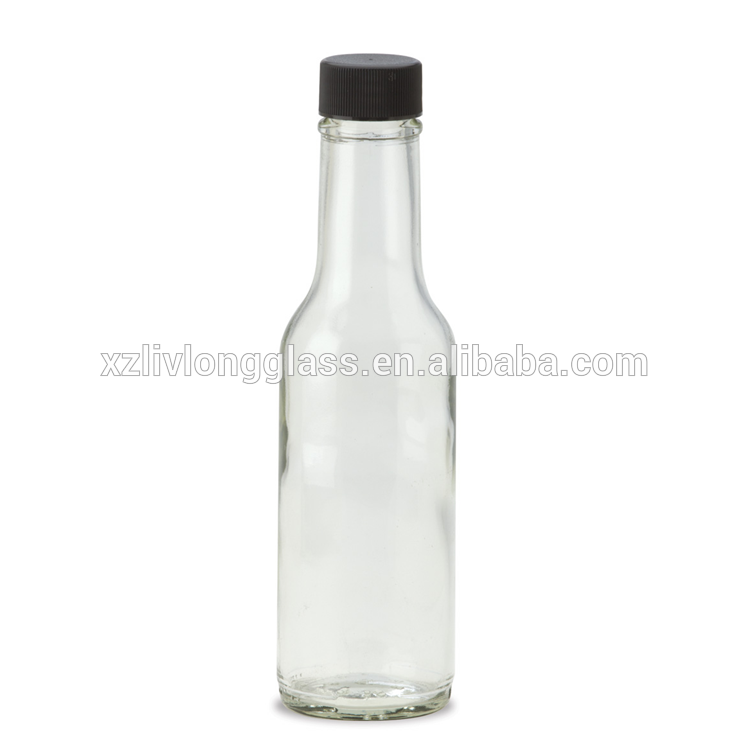 hot selling 5oz woozy bottle with black cap