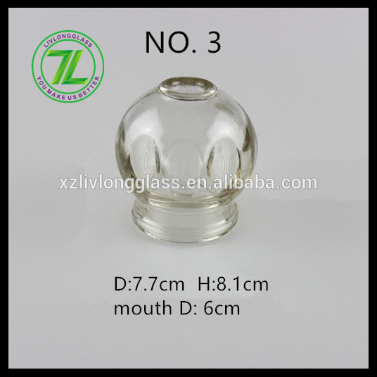 chinese hijama glass cupping cups set #3