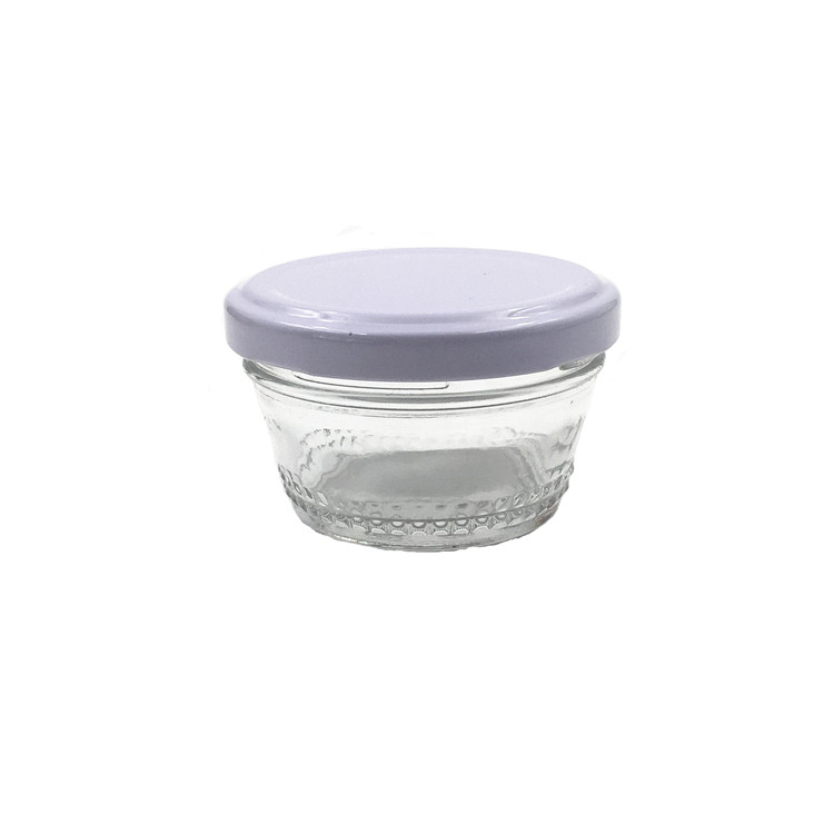 Factory Outlets Uv Glass Jar - 90ml 3oz Glass Caviar Jar For Caviar With Twist Off Lid – LIVLONG