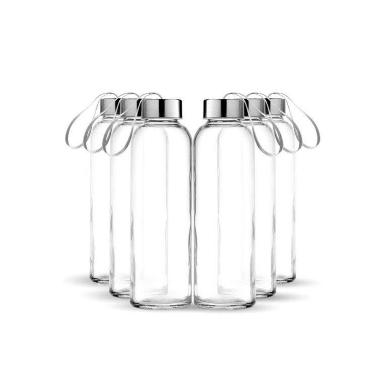 Factory Promotional 120ml Resistant Glass Container - Round Clear Drinking Water Bottle With Screw Cap – LIVLONG