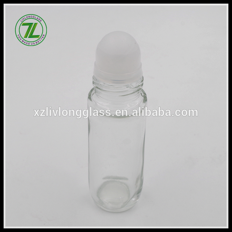 Professional ChinaCr Glass Jar - 45ml glass deodorant bottle glass roller bottle with cap – LIVLONG