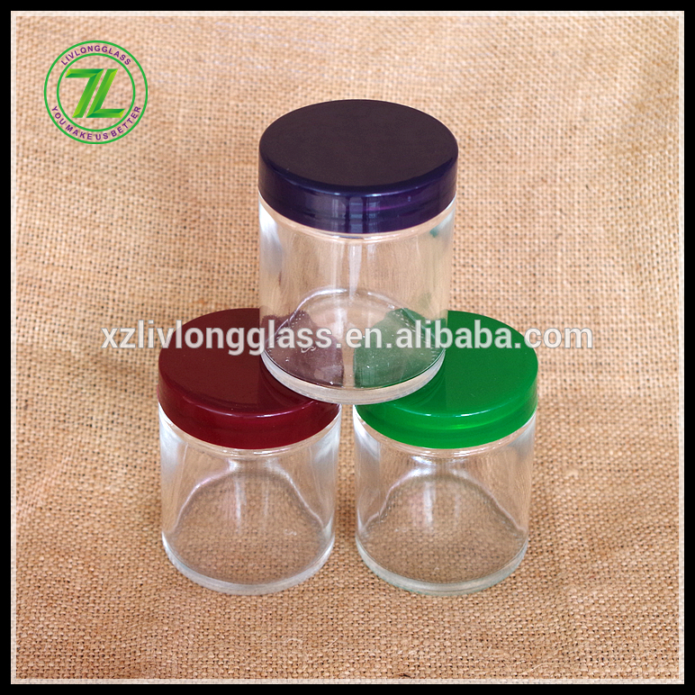 70ml sativa glass jar with childproof lid
