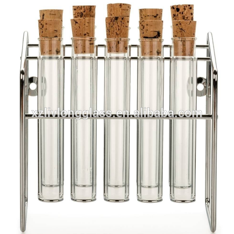 Herb Spice Rack Glass Spice Tubes Jars Bottles Featured Image