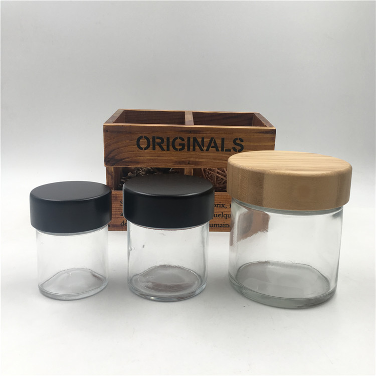 2oz 4oz 8oz childproof glass jars with child resistant lids Featured Image