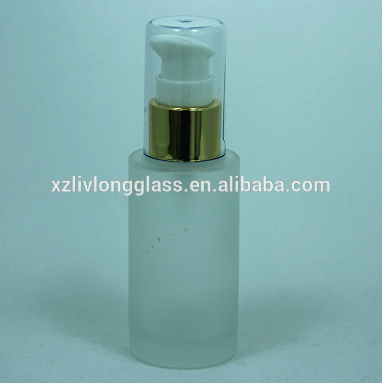 30ML 40ML 60ML GLASS LOTION BOTTLE SKINCARE BOTTLE WITH PUMP