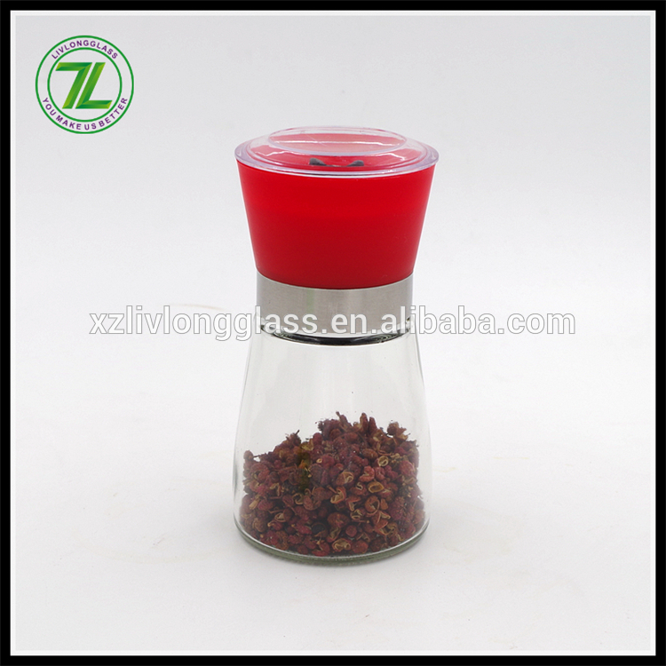 glass spice bottle grinder/pepper and salt mill Featured Image