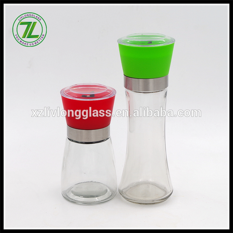 160ML Mixer Grinder with Clear Glass Spice Herb Pepper Jar