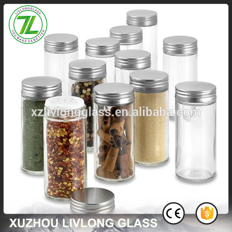 70ml 2.5oz round glass packaging bottle for spices