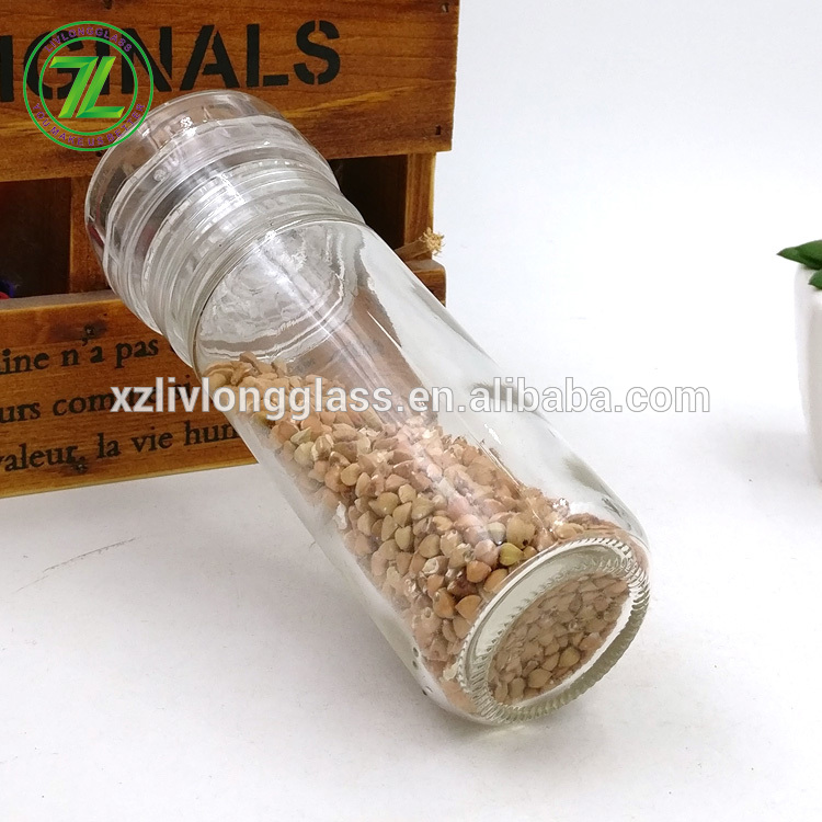 free samples 4oz herbs and black pepper bottle 100ml glass spice grinder for sale Featured Image
