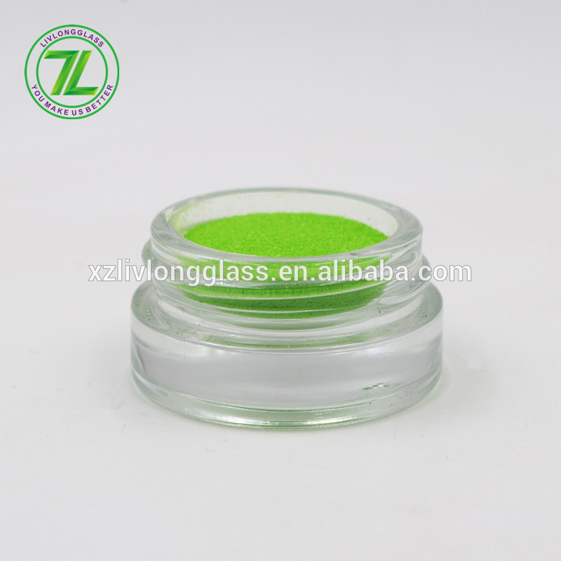 straight sided inside jar 5g mini glass cream cosmetic jar with lid