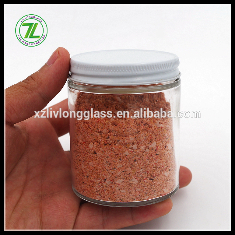 custom design 150ml straight storage bottle 5oz paprika flakes glass jars with lids