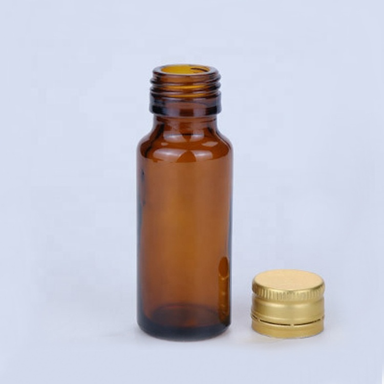 stocked 50ml brown syrub glass containers 20ml amber liquid oral liquid solution bottle with airtight aluminum cap
