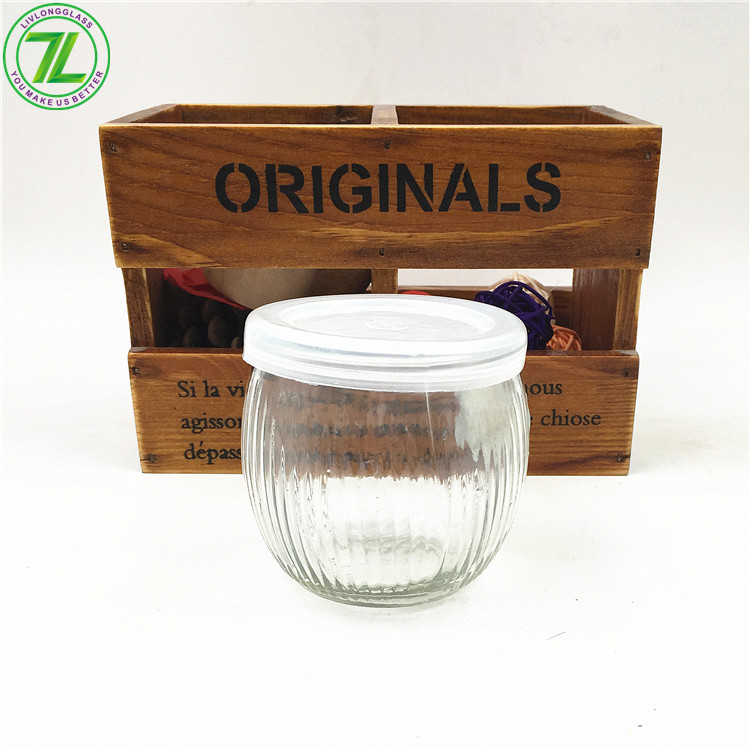150ml 5oz Glass Pudding Jar With Cap