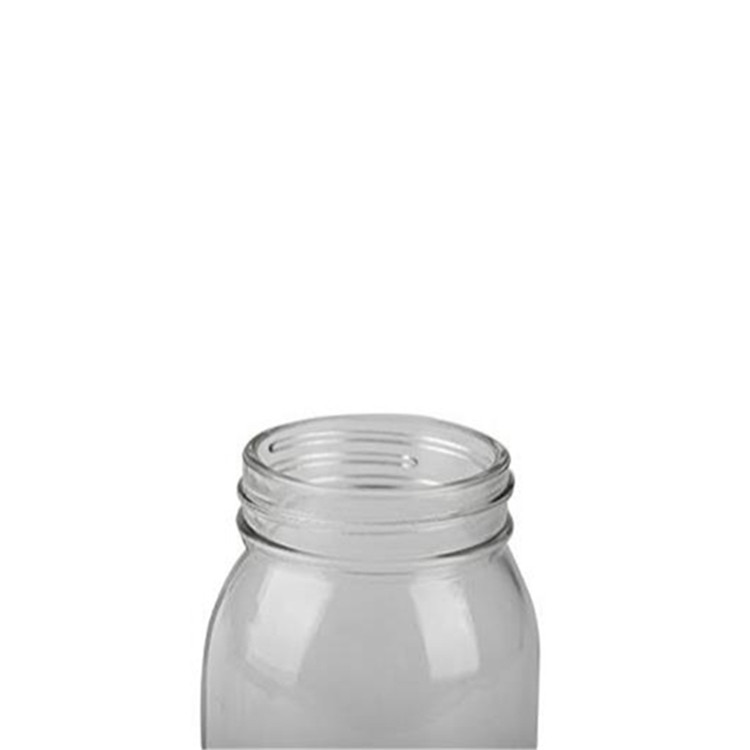 Fixed Competitive Price Round Glass Spice Jar - hot sale 750ml 25oz Glass Clear Round Salad Food Mason Jar With Screw Cap – LIVLONG