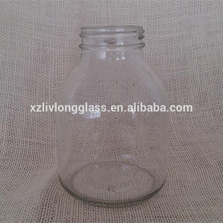 glass Tissue culture bottle Glass jar