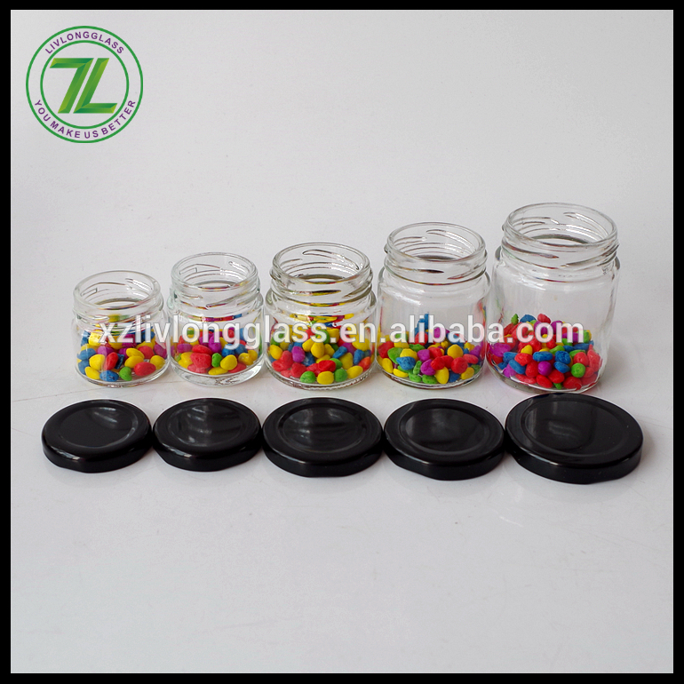 airtight honey bottle jam jar mini mason jars with lid