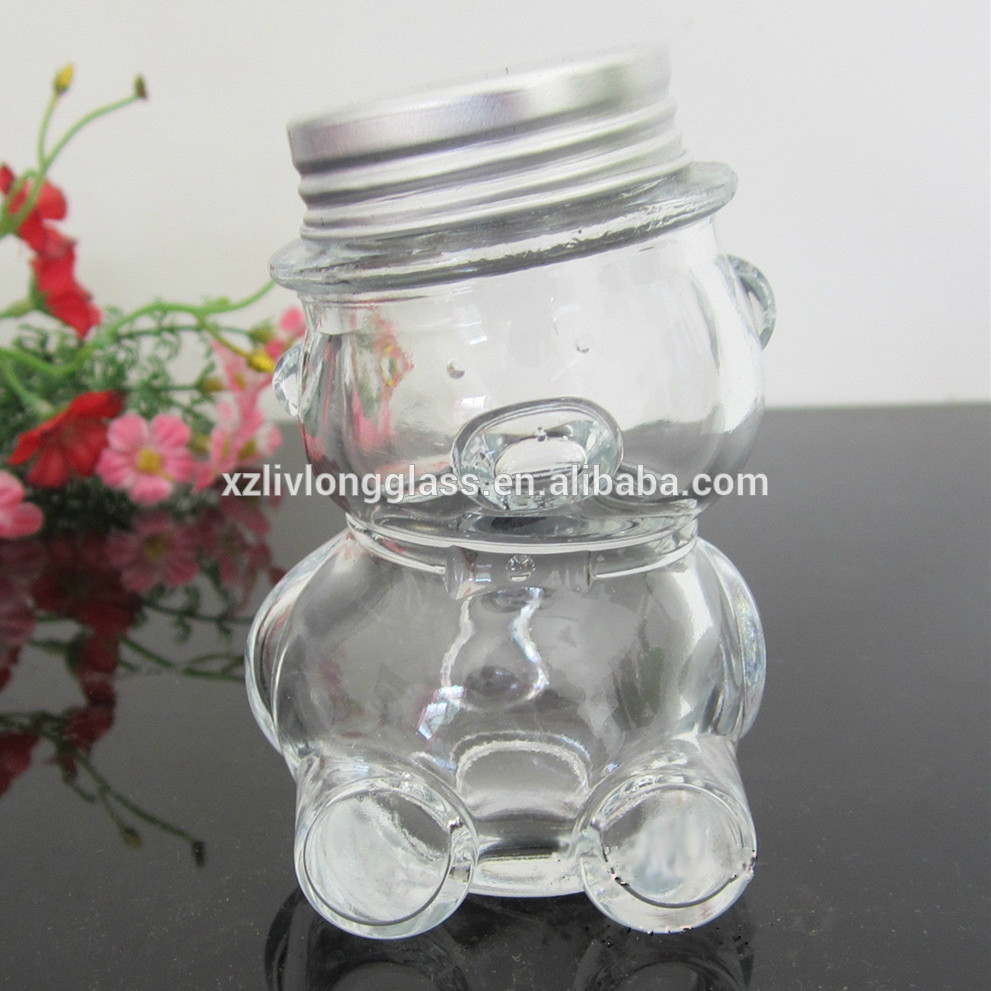 superior quality honey bear jar with cap